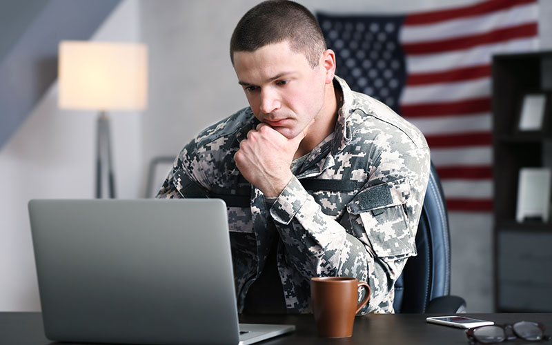 US Veteran Researching Career Training to Utilize Post 9/11 GI Bill